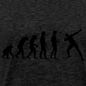 Evolution Usain Bolt Sweatshirts - Herre premium T-shirt