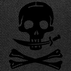 Pirate Pirates Skull T-Shirts - Snapback Cap