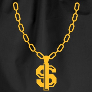 Dollar Necklace T-shirts - Gymnastikpåse