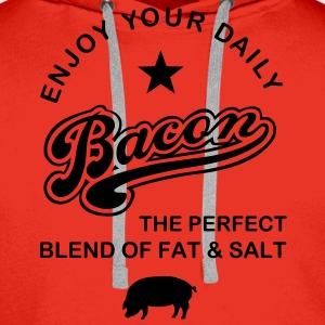 Bacon T-Shirts - Men's Premium Hoodie