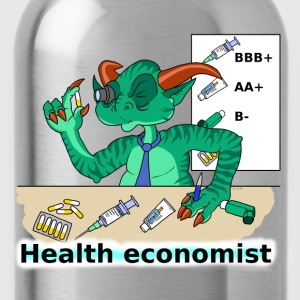 health economist Hoodies & Sweatshirts - Water Bottle
