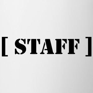 staff T-shirts - Mugg