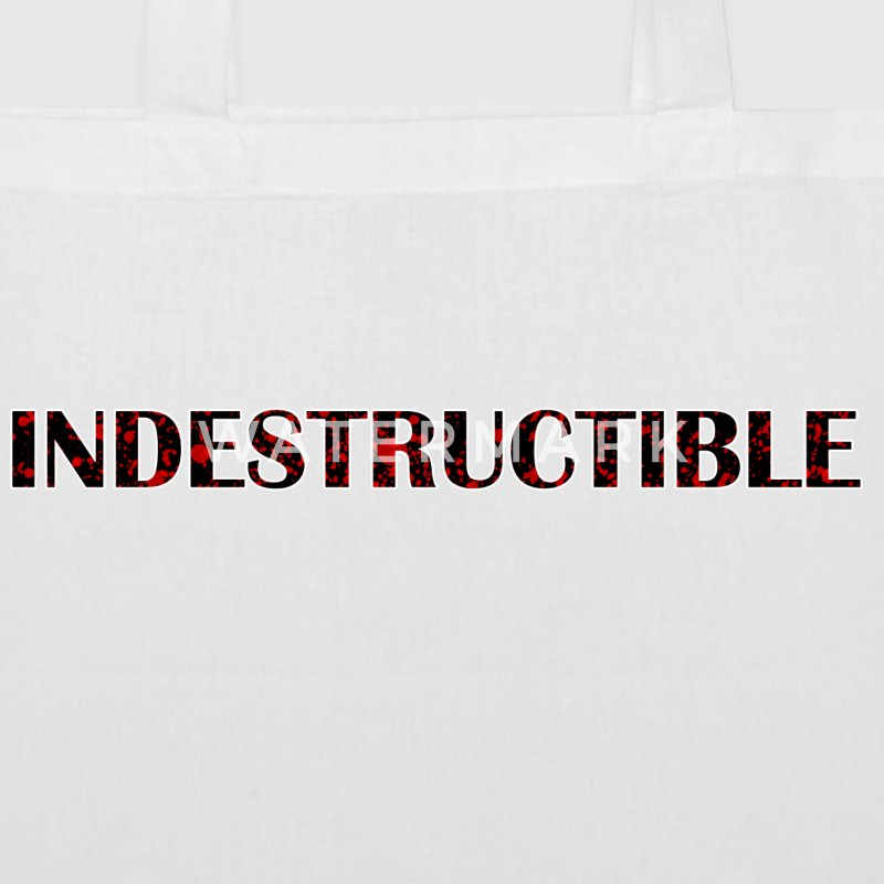 indestructible - Bolsa de tela