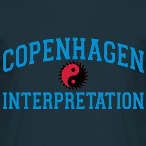 Copenhagen Intepretation (NO OUTLINE) Hoodies & Sweatshirts - Men's T-Shirt