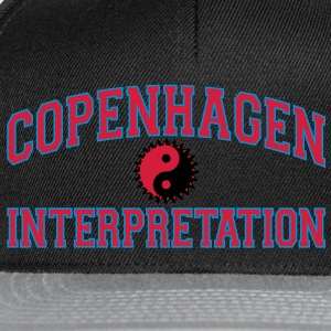 Copenhagen Intepretation (RED LETTERS) T-Shirts - Snapback Cap