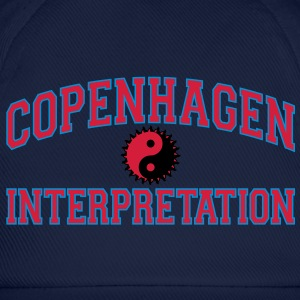 Copenhagen Intepretation (RED LETTERS) Hoodies & Sweatshirts - Baseball Cap