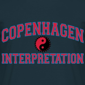 Copenhagen Intepretation (RED LETTERS) Hoodies & Sweatshirts - Men's T-Shirt