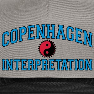 Copenhagen Intepretation (BLACK OUTLINE) Hoodies & Sweatshirts - Snapback Cap