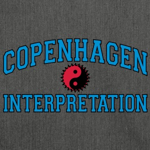 Copenhagen Intepretation (BLACK OUTLINE) Hoodies & Sweatshirts - Shoulder Bag made from recycled material