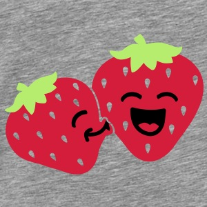 strawberry kiss Accessoarer - Premium-T-shirt herr
