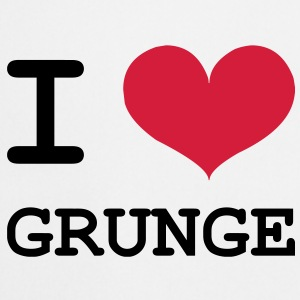 I Love Grunge Tee shirts - Tablier de cuisine