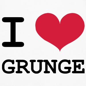 I Love Grunge Tee shirts - T-shirt manches longues Premium Homme