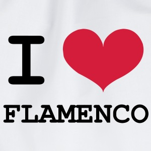 I Love Flamenco ! T-Shirts - Turnbeutel