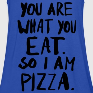 I am Pizza Shirts - Vrouwen tank top van Bella