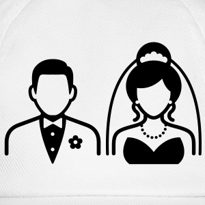 Wedding Couple (1c)++ Sweatshirts - Baseballkasket