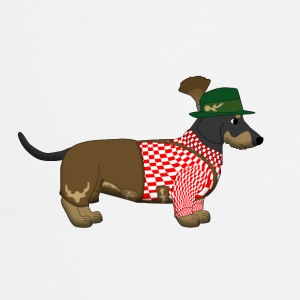 Dachshund Bavaria 2 Bottles & Mugs - Cooking Apron