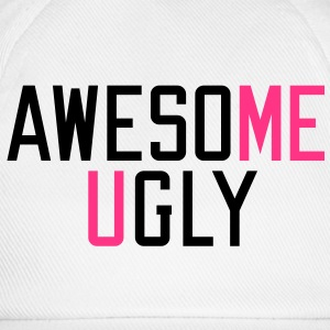 me awesome | you ugly T-Shirts - Baseball Cap
