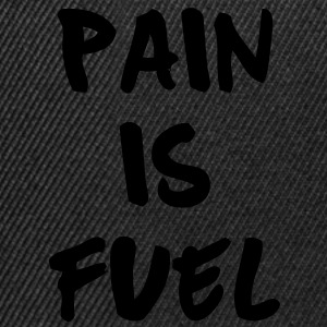 Pain Is Fuel  Aprons - Snapback Cap