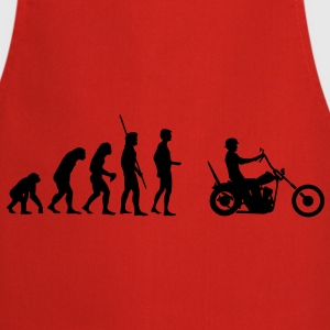 Chopper Evolution  T-Shirts - Cooking Apron