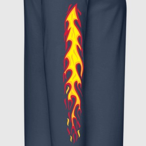 flames, flammen, fire, Feuer, arm, sleeves, tattoo - Men's Premium Longsleeve Shirt