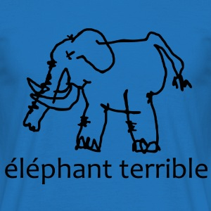 Éléphant Terrible Hoodies & Sweatshirts - Men's T-Shirt