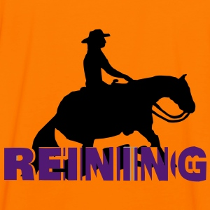 Reining 3 D Sliding Stop Man  Hoodies & Sweatshirts - Men's Ringer Shirt
