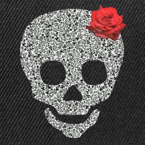 skull and rose T-skjorter - Snapback-caps