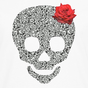 skull and rose Skjorter - Premium langermet T-skjorte for menn