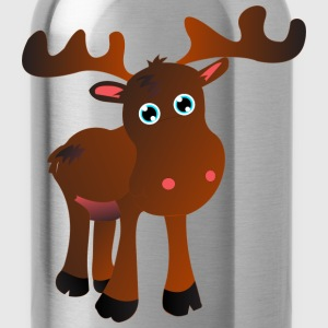 cute moose T-shirts - Drinkfles
