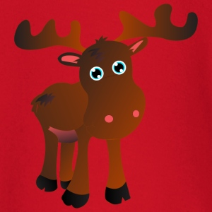 cute moose T-shirts - T-shirt