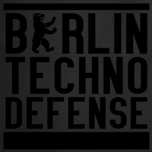 BTD - Berlin Techno Defense Shirt - Kochschürze