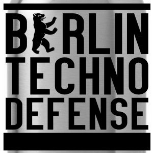 BTD - Berlin Techno Defense Girlie Shirt - Trinkflasche