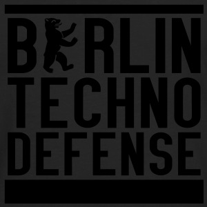 BTD - Berlin Techno Defense Girlie Shirt - Männer Premium Langarmshirt