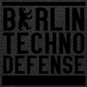 BTD - Berlin Techno Defense Girlie Shirt - Snapback Cap