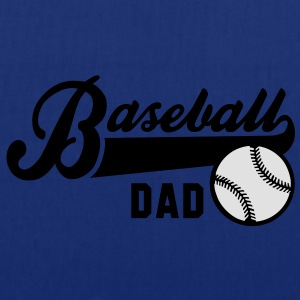 Baseball DAD 2C T-Shirt RN - Tote Bag