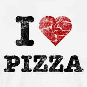i_love_pizza_vintage  Aprons - Men's Premium T-Shirt