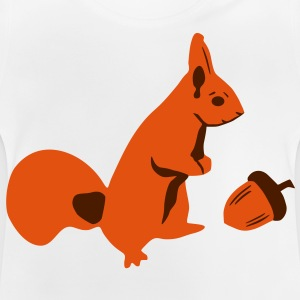 Squirrel and nut T-Shirts - Baby T-Shirt