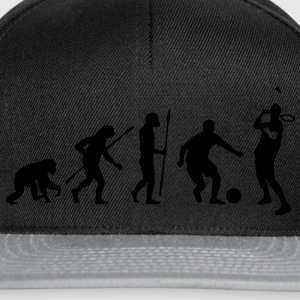 evolution_badminton_fussball_092012_d_1c T-Shirts - Snapback Cap
