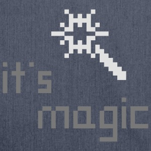 magic wand Zauberstab aus Photoshop & Co. T-Shirts - Schultertasche aus Recycling-Material