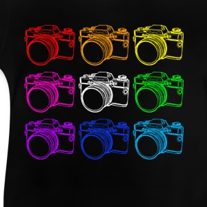Cameras (White) - Baby T-Shirt