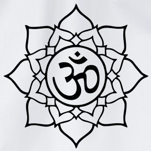Lotus Aum Om T-Shirts - Drawstring Bag