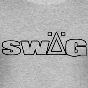 swÄg - Herre Slim Fit T-Shirt