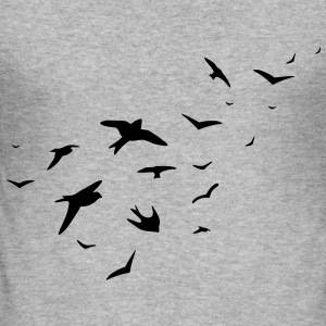 birds - Männer Slim Fit T-Shirt