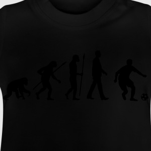 evolution_fussball_092012_a_1c_black T-Shirts - Baby T-Shirt