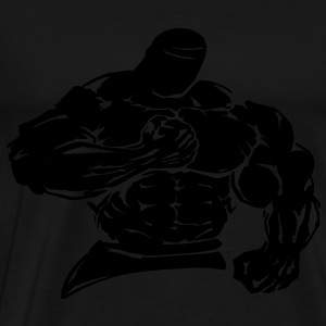 bodybuilder / fighter - Herre premium T-shirt