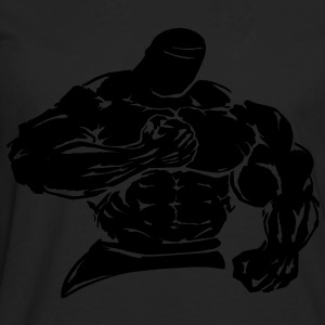 bodybuilder / fighter - Mannen Premium shirt met lange mouwen