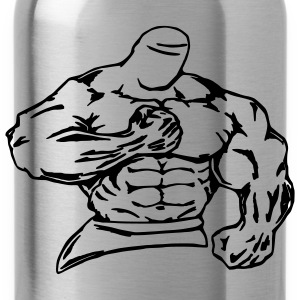 bodybuilder / fighter - Water Bottle