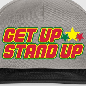 get up stand up T-Shirts - Snapback Cap