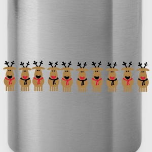 christmas reindeer crew T-Shirts - Water Bottle