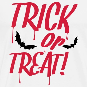 trick_or_treat_2c Tröjor - Premium-T-shirt herr